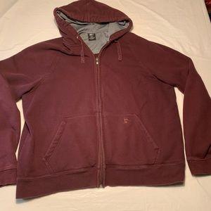 Starter Full Zip Up Hoodie Hooded Sweatshirt